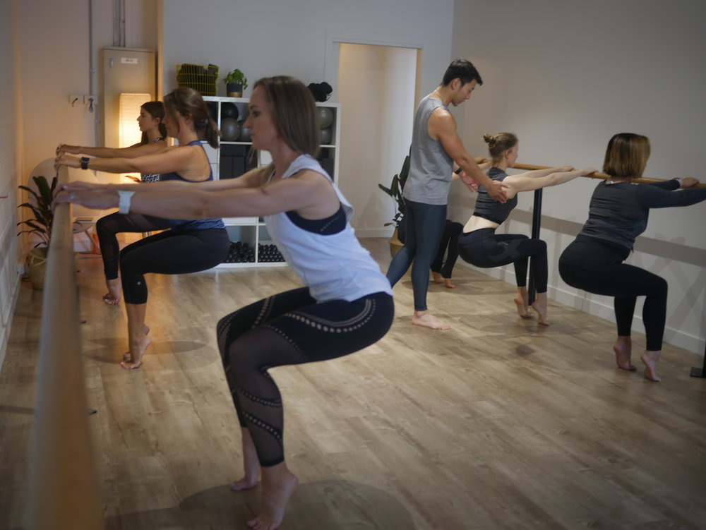S3 Barre - The only barre workout in the world designed and choreographed by a physiotherapist! It fuses elements of dance and pilates, cardio and endurance exercises to create an intense and effective full body workout. It's the ultimate barre workout!
