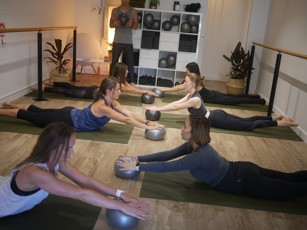 Mat Pilates - Designed by a physiotherapist, S3 Pilates builds upon traditional pilates principles and exercises to create the ultimate pilates based workout to Stretch, Strengthen and Stabilise! It is highly effective and efficient, but most importantly safe and fun!