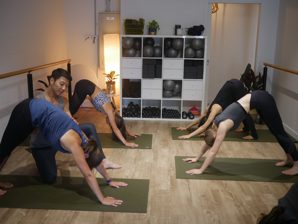 Yoga - We offer a variety of yoga classes - Ashtanga, Yin and Hatha. Each is taught by expert instructors who live, breathe and dream yoga! Each class is tailored to suit all levels - from beginners to advance participants.