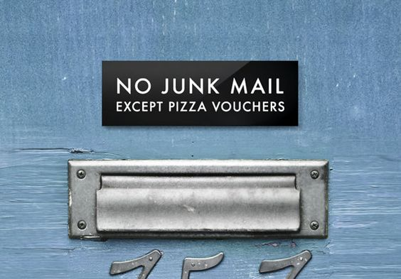 Day 12 - No junk mail please