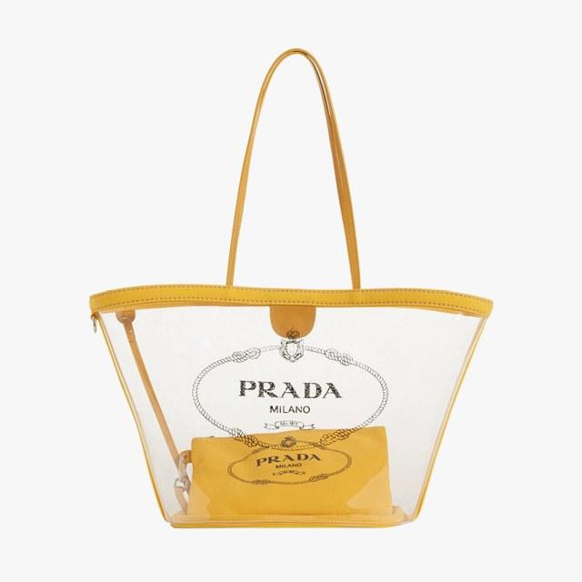 Prada small plex shopper, $1,040,  nordstrom.com .