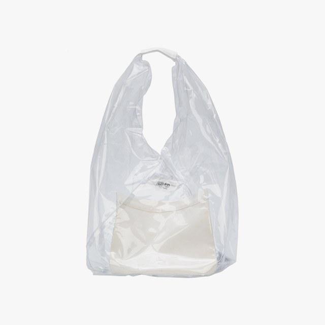 MM6 Maison Margiela transparent PVC bag, $275,  needsupply.com .