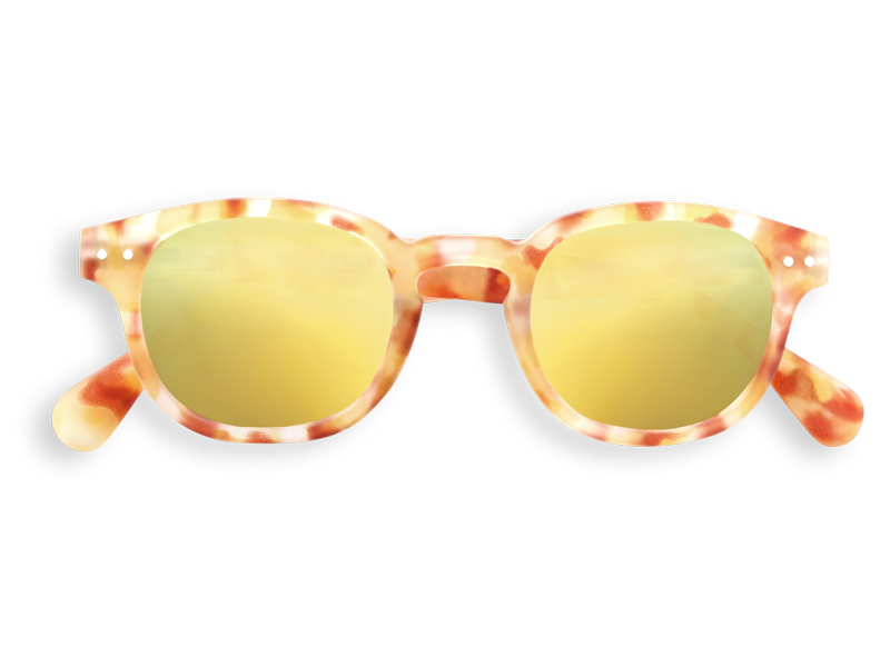 #C YELLOW TORTOISE YELLOW MIRROR LENSES