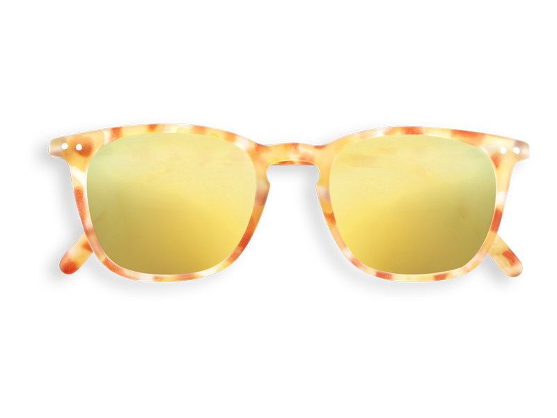 #E YELLOW TORTOISE YELLOW MIRROR LENSES