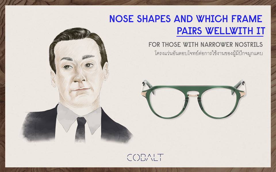 Glasses according for facial shape