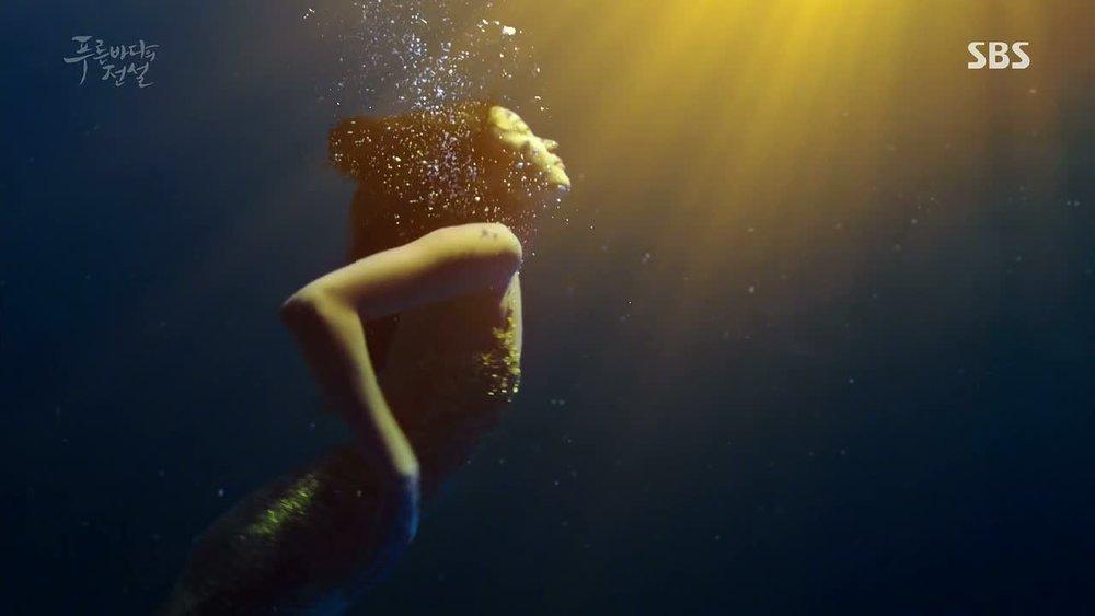 Kdrama Legends Of The Blue Sea Jun Ji Hyun Mermaid