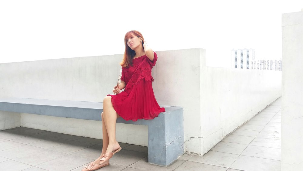 LOOK IMPECCABLY FIERCE WITH AN UNAPOLOGETICALLY RED AS RED CAN BE DRESS -