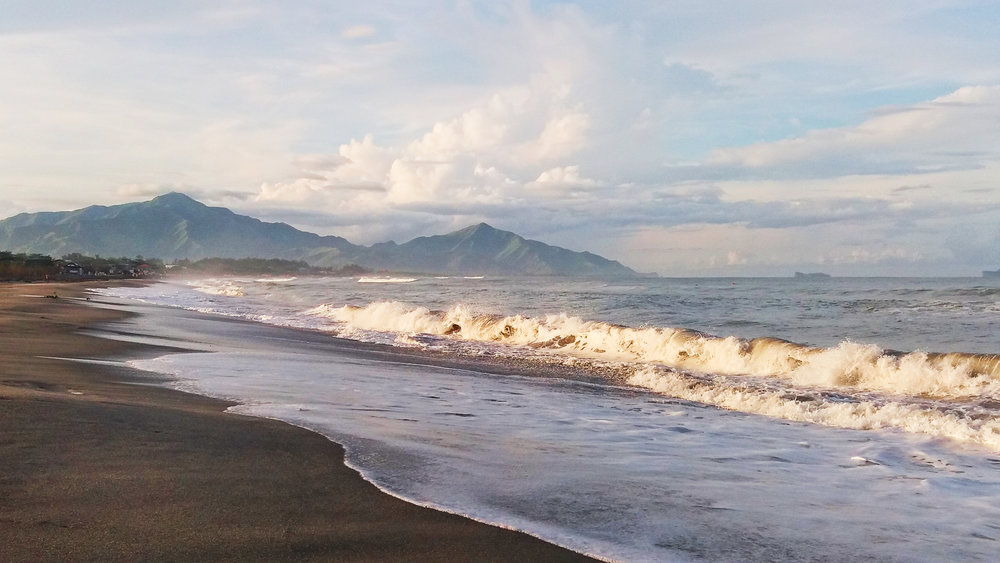 Zambales Philippines Province Beach Surf Town