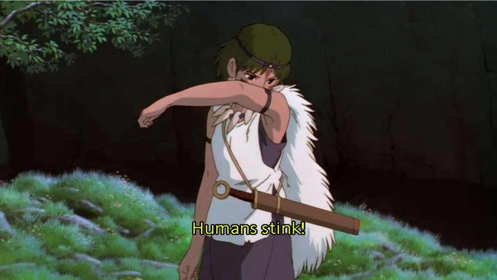 PRINCESS MONONOKE FIERCE