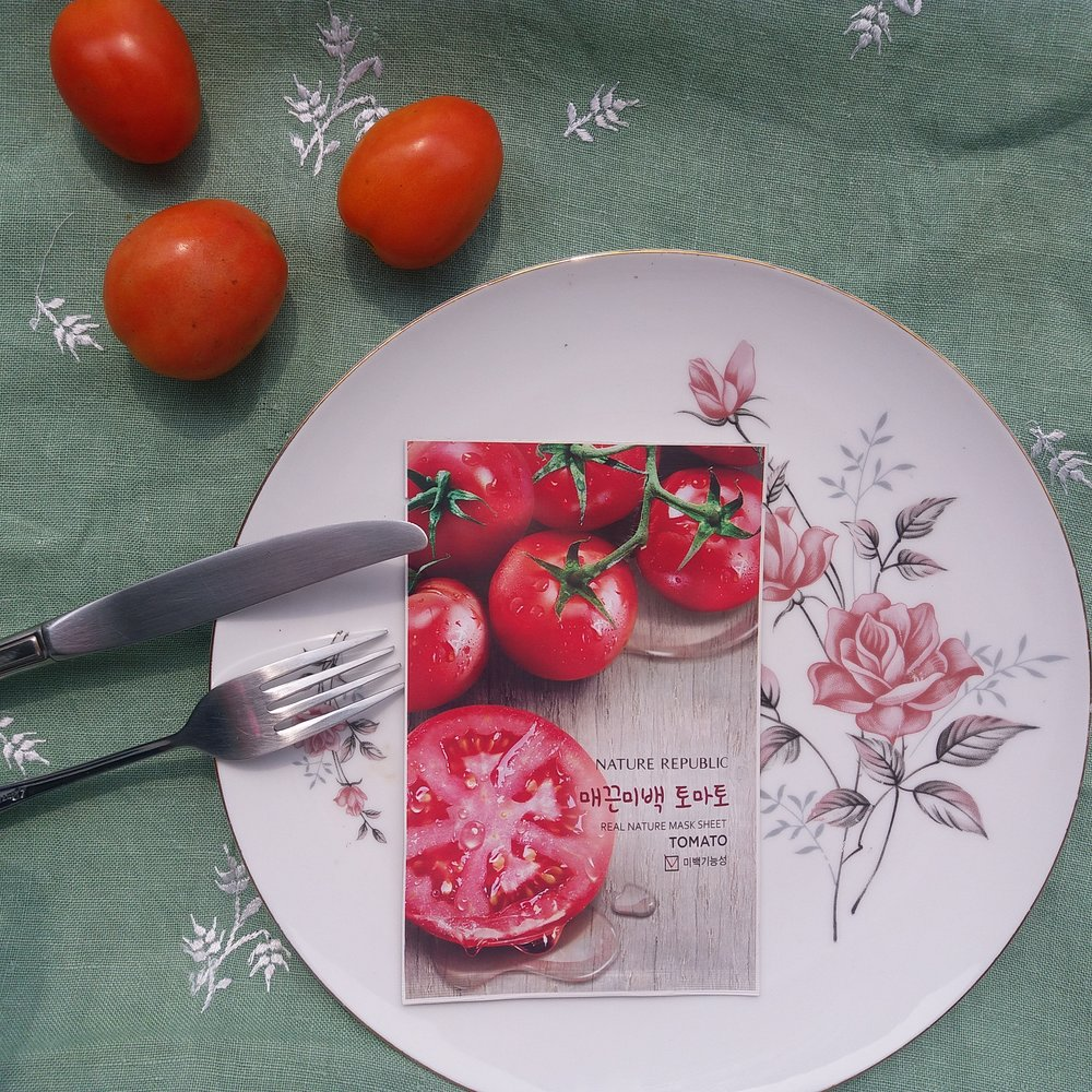 NATURE REPUBLIC TOMATO KOREAN FACE MASK