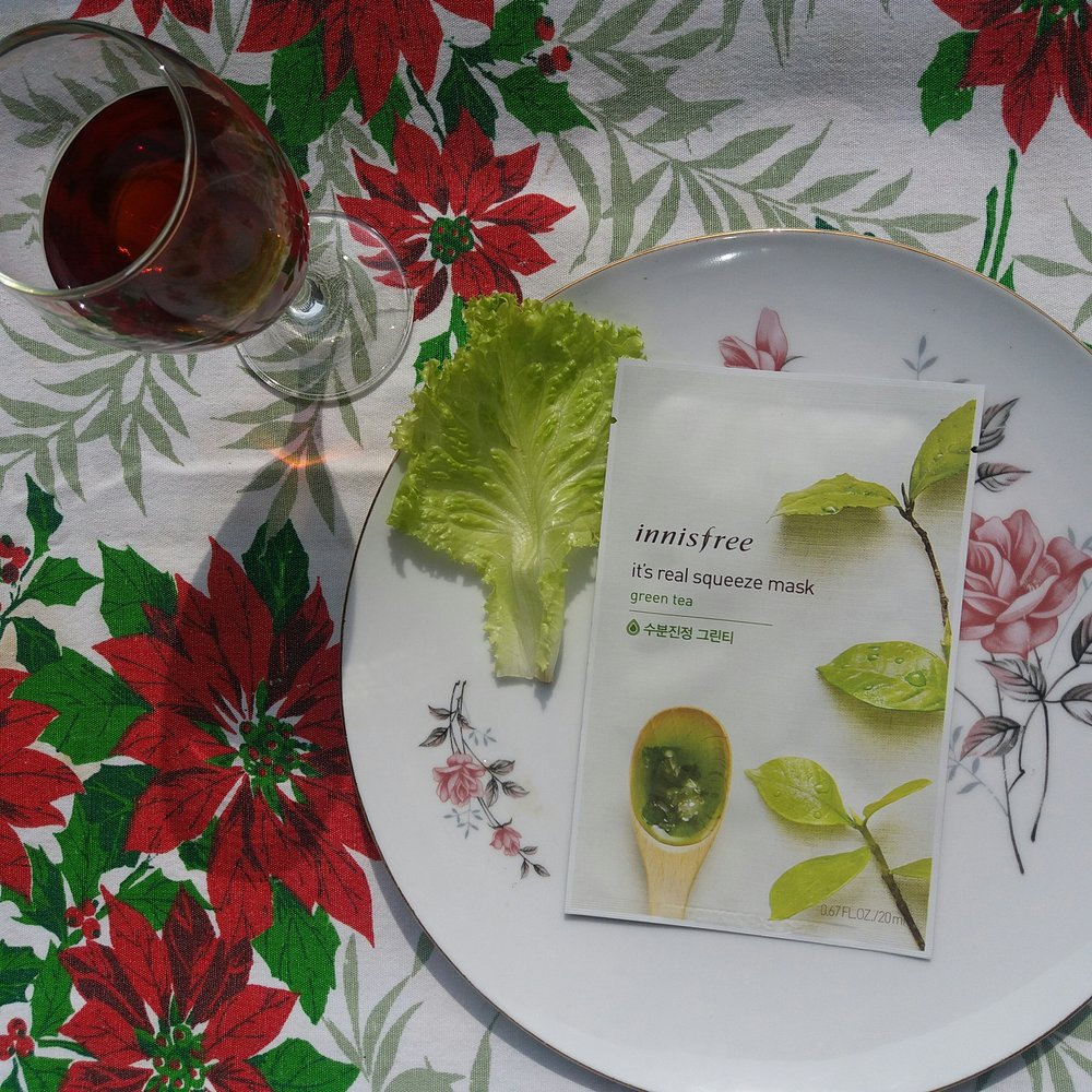 INNISFREE GREEN TEA KOREAN FACE MASK