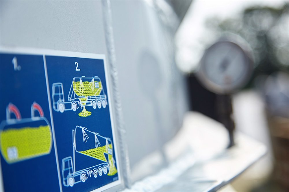 …optimal geeignet: - Von füllmix®-Verfüllsystemen durchgeführte Verfüllungen können für jedes Hohlraumvolumen angeboten werden.