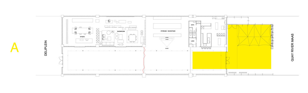 The Arts Club - Loods - Plattegrond - Optie A.jpg