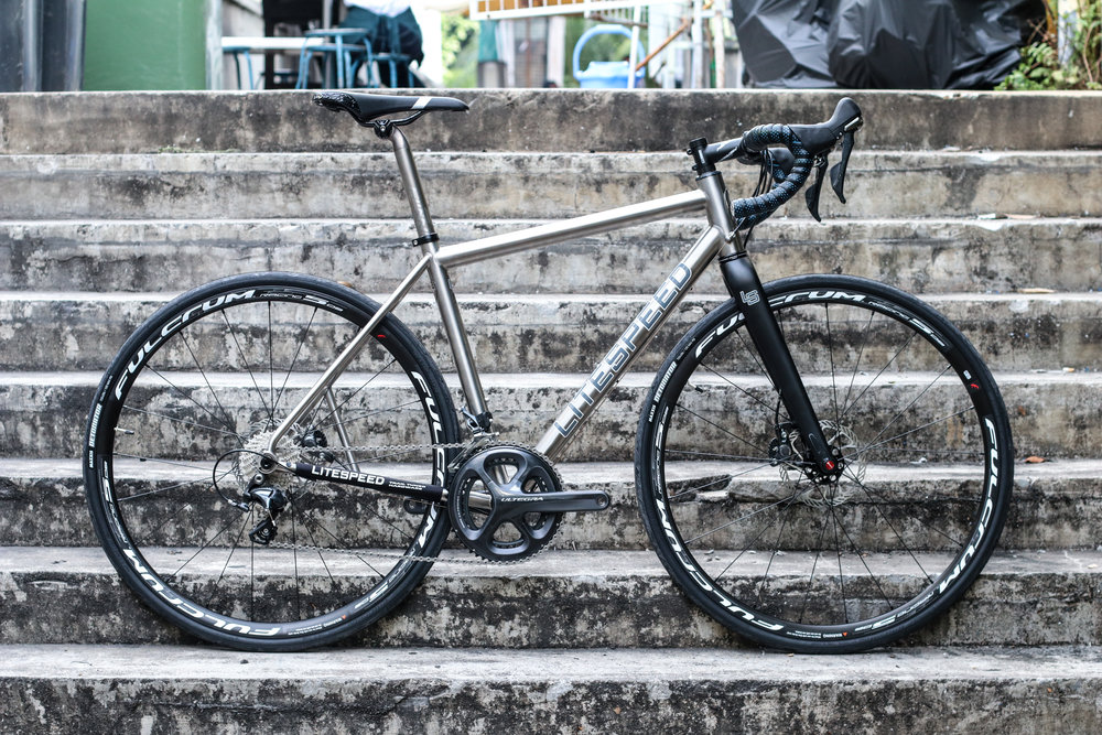 Litespeed T5G - $4950Complete bike only. The frame is a Medium size. Great for the outdoors. Suited for both Off-Road and Road riding. For more details, please drop us a query here.