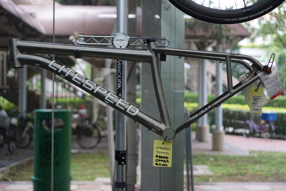 2015 Pinhoti - $2100The frame is a small size, suitable for heights 152cm-170cm. For more details, please drop us a query here.