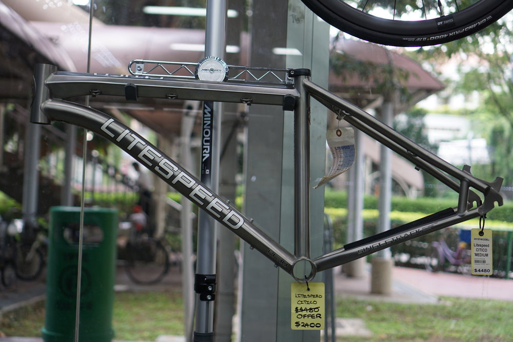2015 Citico - $2400The frame is a medium size, suitable for heights 168cm-178cm. For more details, please drop us a query here.