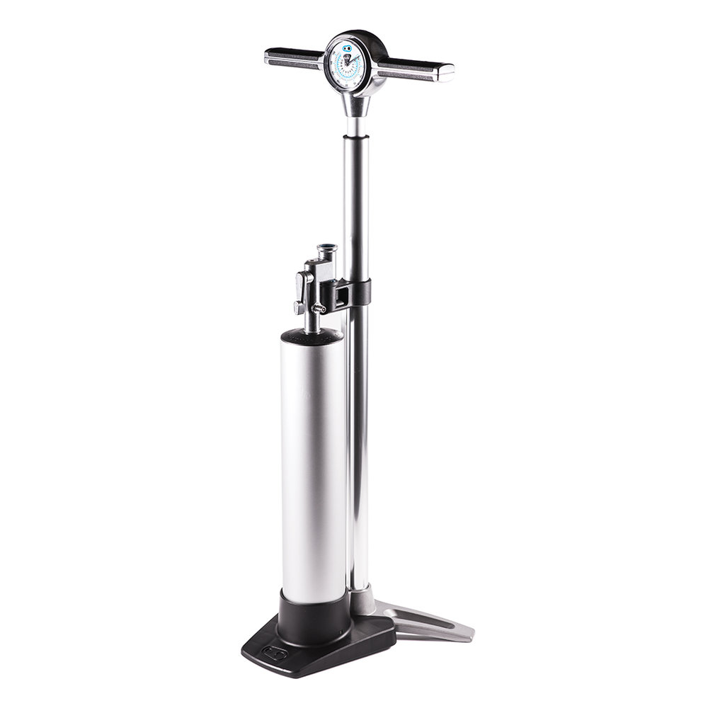 Klic with Analog Gauge + Cannister Floor Pump - SGD $252
