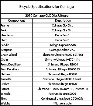 CLX Ultegra Disc