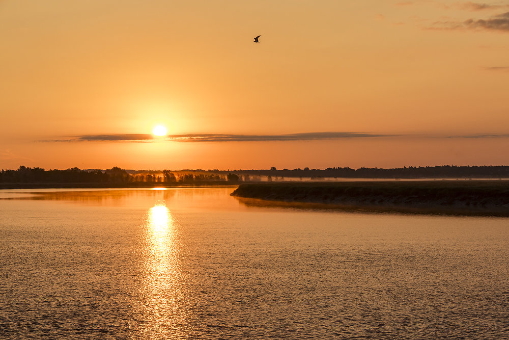 Moncton Sunrise - Canon 7D mk II, Canon 18-135 @ 48mm, 1/640 sec, f/8 and ISO 400
