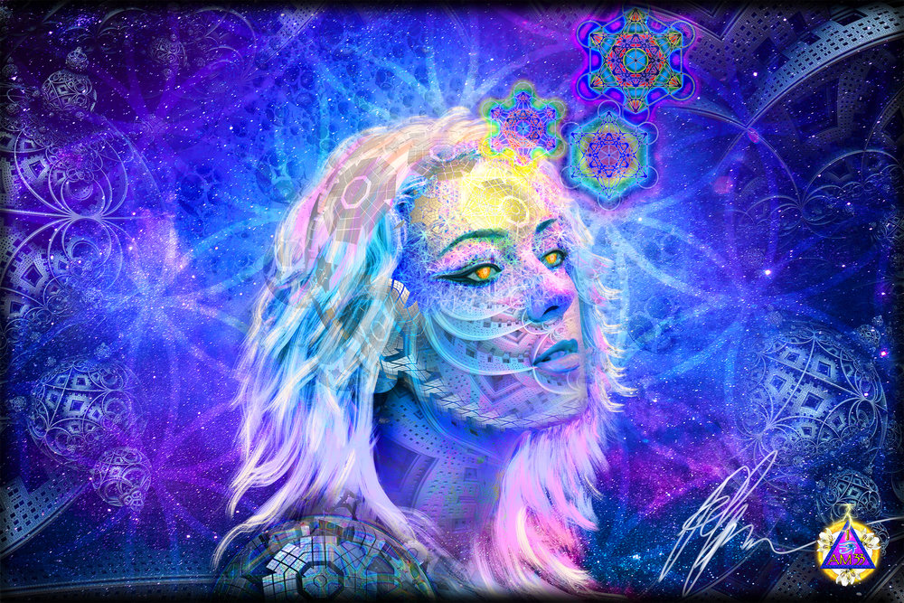Visionary Art by MagiTeck -  This duo specializes in visionary art revealing ancient Magick and advanced spiritual practices. They are artists on a mission. Their art portrays spiritual growth and mastery in a visionary medium of paint on canvas.