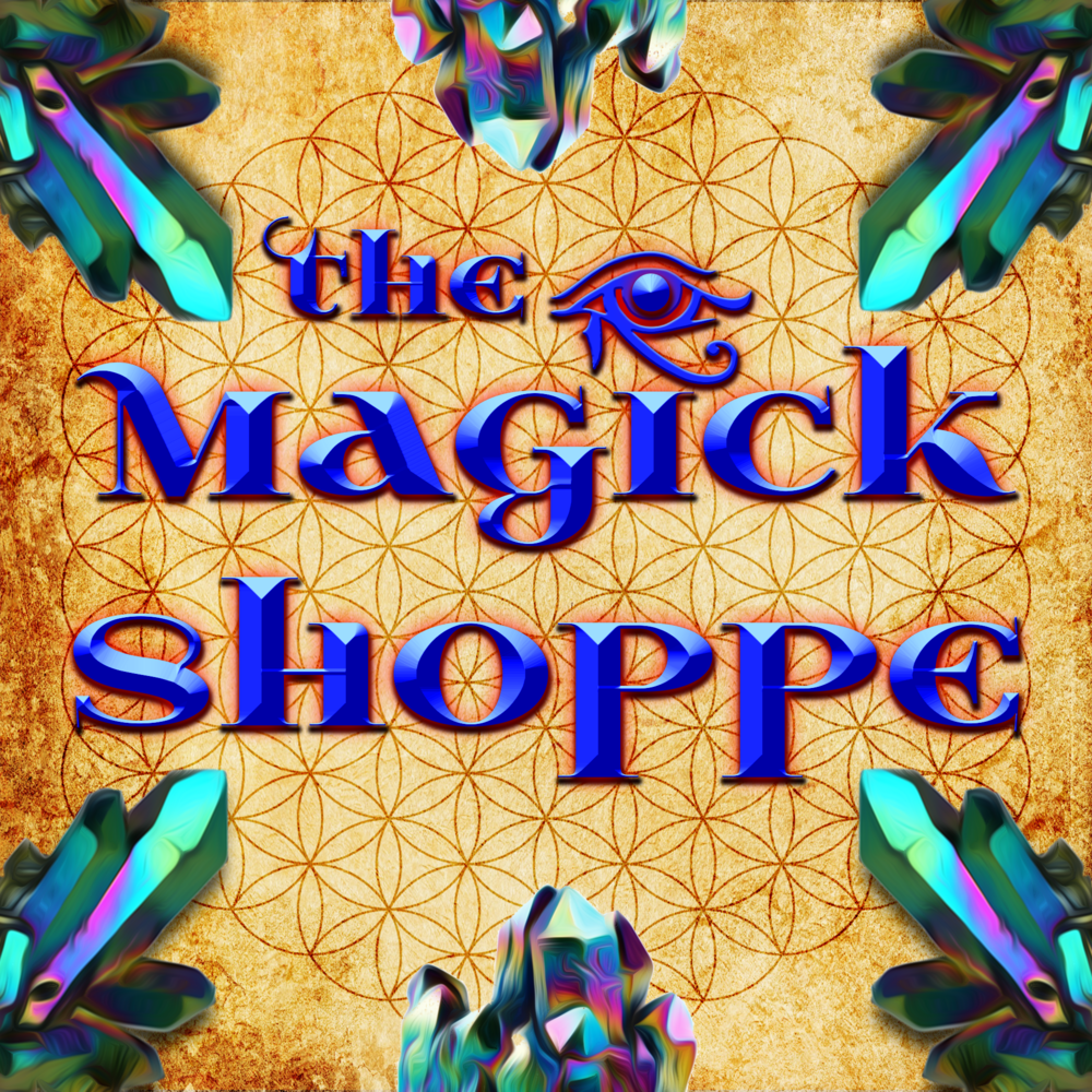 The Magick Shoppe -  Come explore the world of mysticism and magick! We will have Tarot decks, books, and other spiritual supplies available!