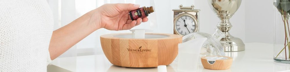 Young Living Essential Oils, and other organic chemical free products offered through Young Living