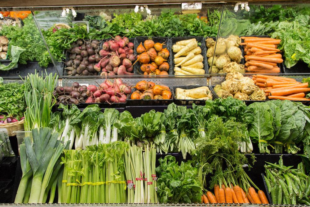 Fresh, Local, & Organic Produce!