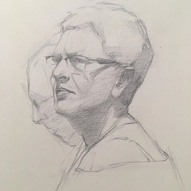 Spain sketchbook #moleskine #drawingoftheday #portrait #instaart #pencildrawing