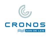 cronos aan de leie logo