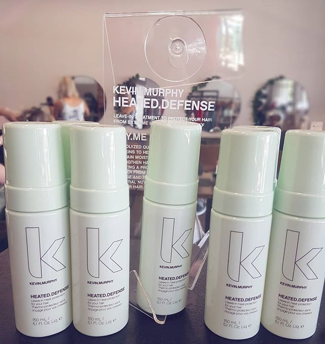 Heated.Defense by Kevin.Murphy // A weightless leave-in foam to protect your hair with Hydrolyzed Quinoa and Organic Jojoba ❤  Sulphate, Paraben and cruelty free 🙌