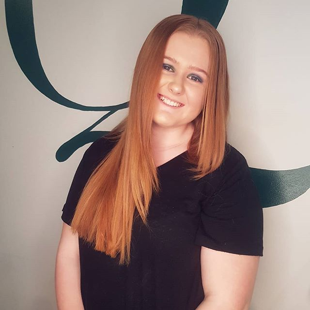 New faces at Quin // We've got the gorgeous Chantelle helping us in salon for work placement 🙌