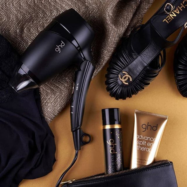 Got travel plans? The ghd flight travel dryer has got your hair needs covered 👐