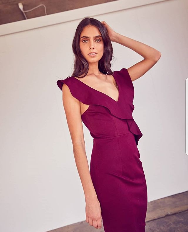 The Wisteria Ruffle Dress 🍇