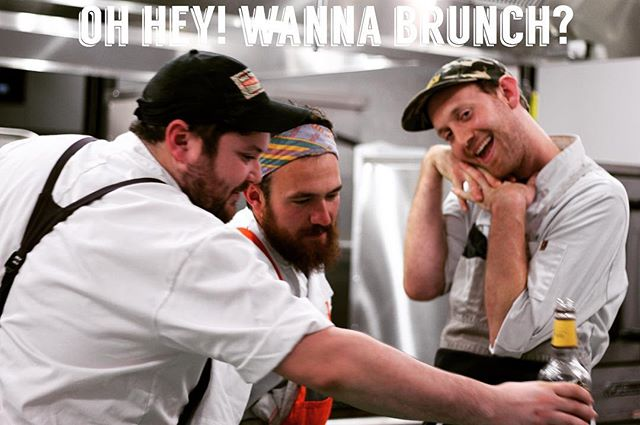 Still some tickets left for this Sunday's brunch @pilotworksprovidence ! Two seatings at 11 AM and at 2 PM. Tickets include 3 courses of brunchy goodness and complimentary bloodies and mimosas. Ticket link in bio or at dinnerbellri.com