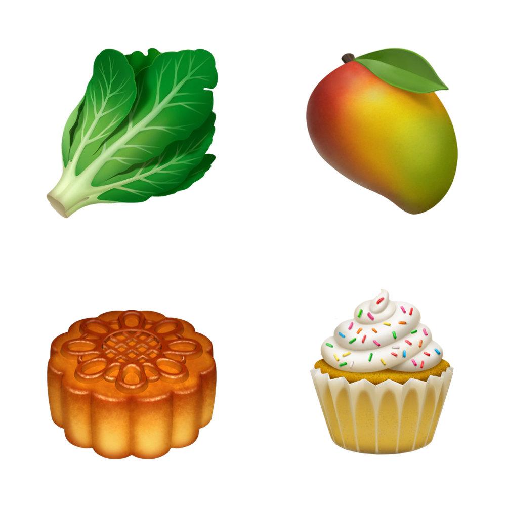 New emoji foodjpg