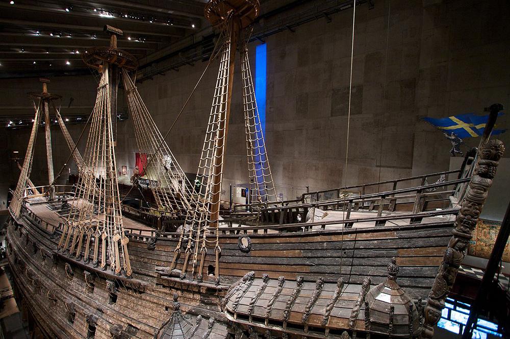 The original ship at Vasa museum in Stockholm