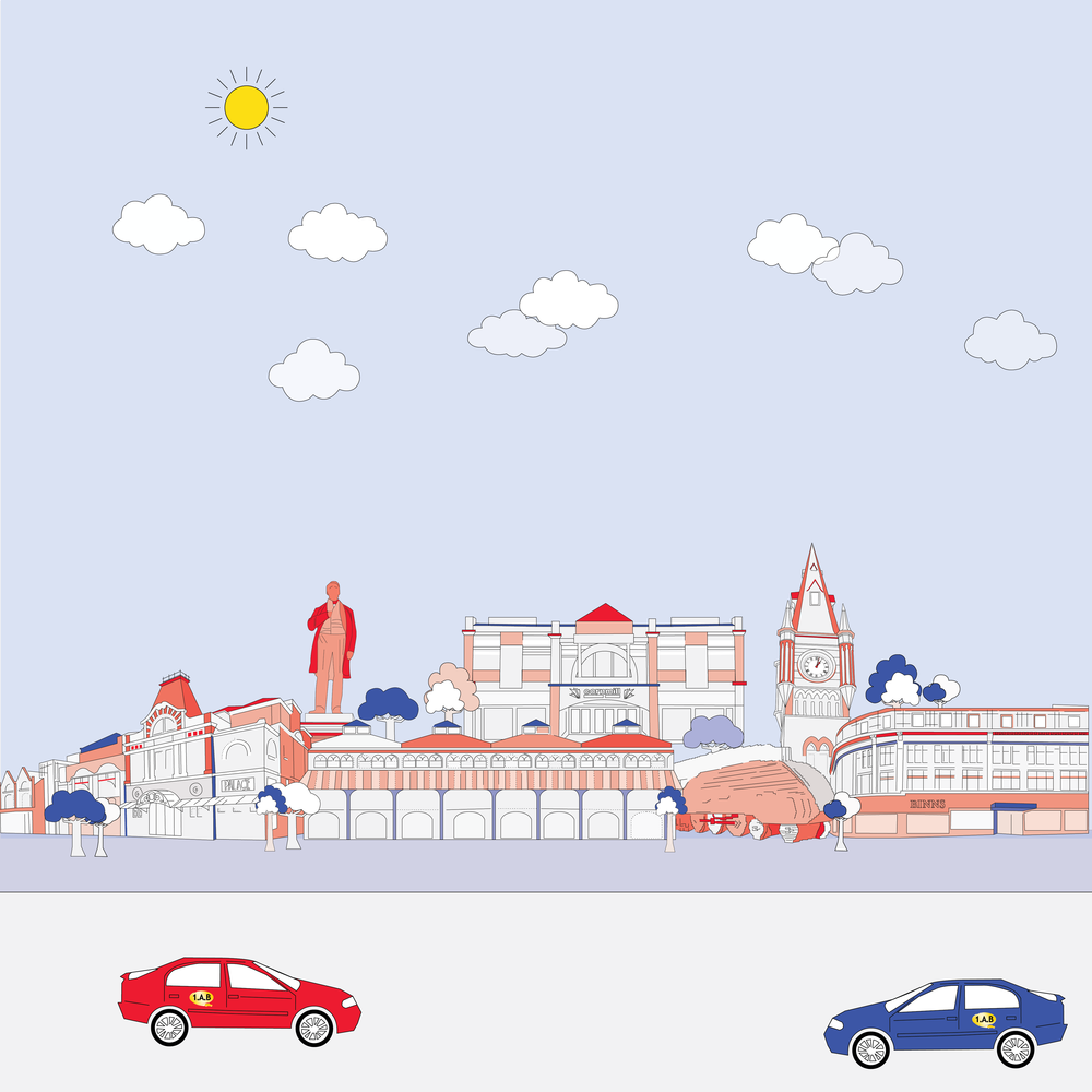 1AB Taxi animation
