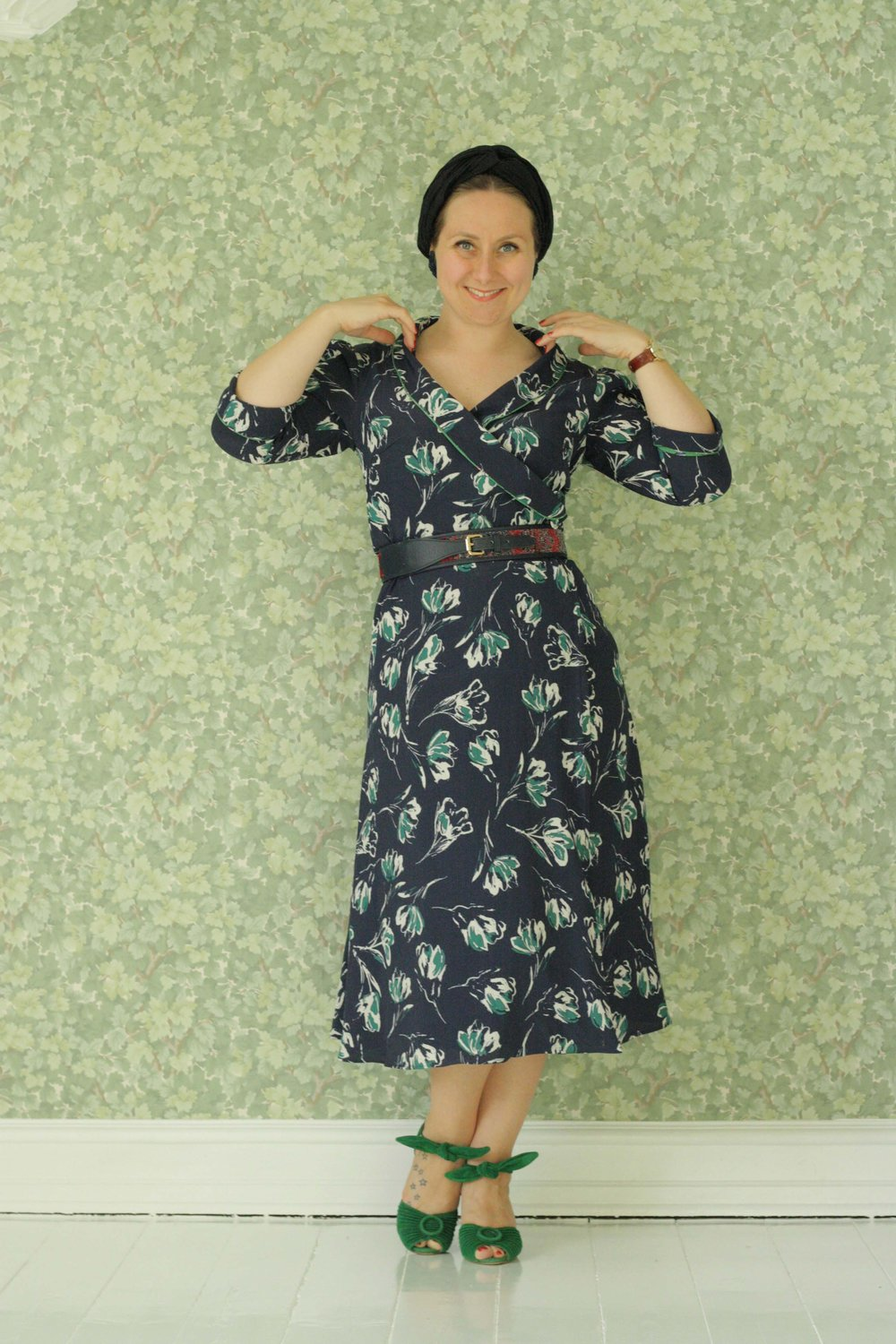 Wrap dress. I have made this pattern from my dress base. So this is not a pattern for sale.   - Wrap dress. I have made this pattern from my dress base. So this is not a pattern for sale.