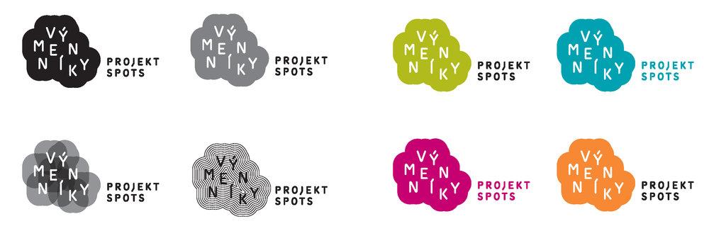 logotyp a jeho varianty