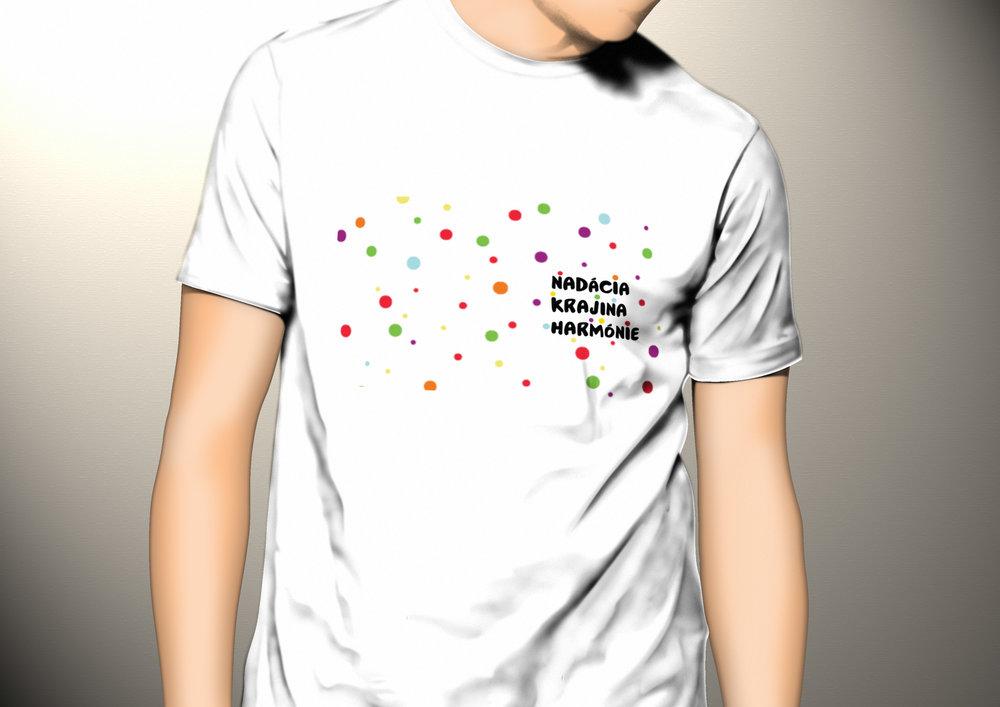návrh trička