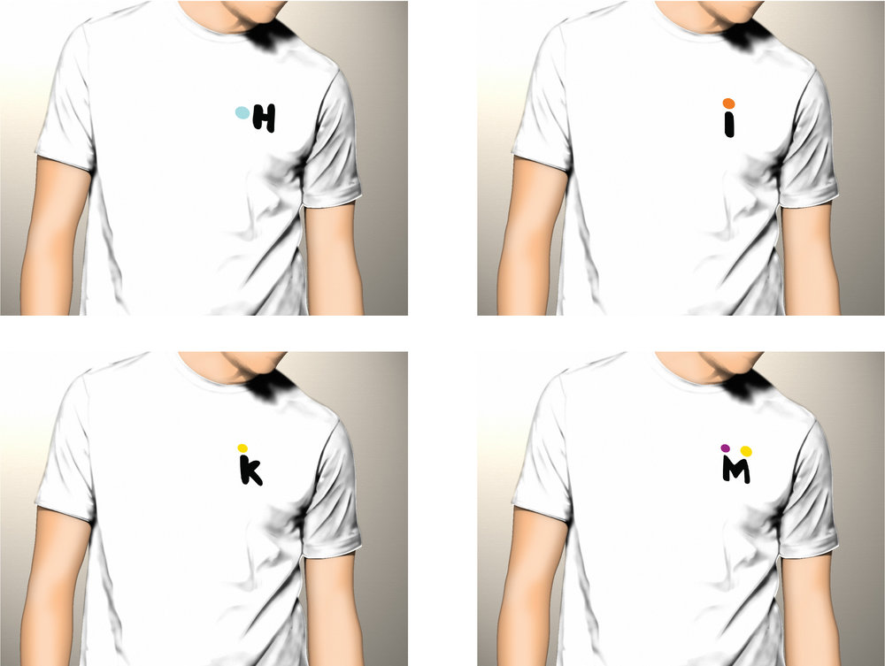 návrhy tričiek