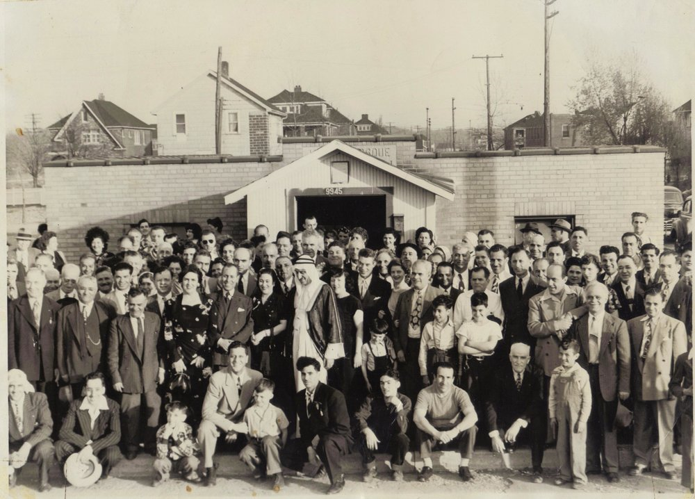 Dearborn Mosque, 1944. Courtesy of Islamic Center of Greater Toledo ( icgt.org )