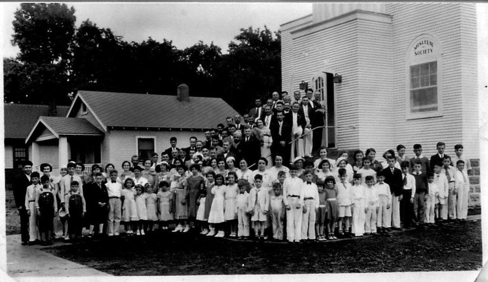 Cedar Rapids mosque, July 16, 1936. Courtesy of Islamic Center of Cedar Rapids