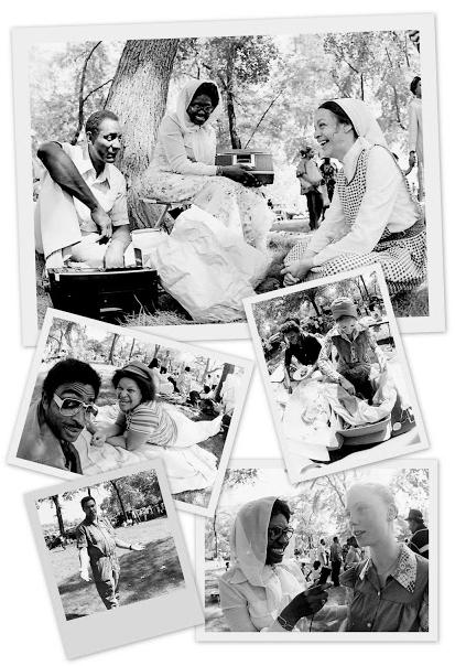 Chicago Muslim community, 1977. Courtesy of Waliakbar Muhammad