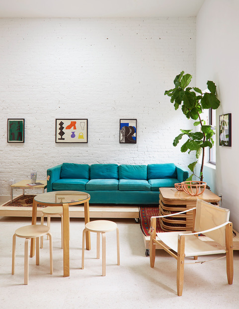 A space for art, design & coffee. - Featuring rotating works from studios across art and design, clients can enjoy a selection that is both international and local, focused on the domestic and livable, including art, furniture, lighting, plant accessories, and more.