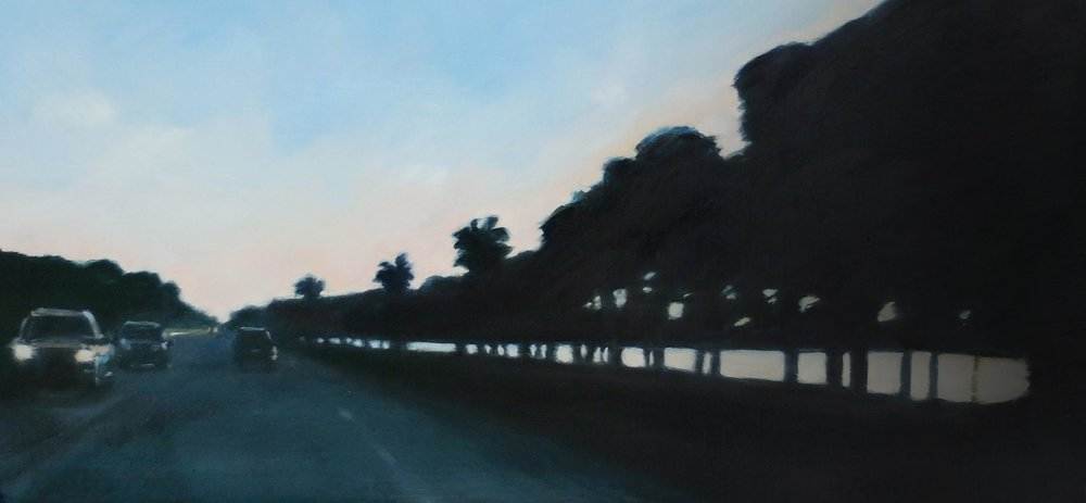 Causeway, Evening