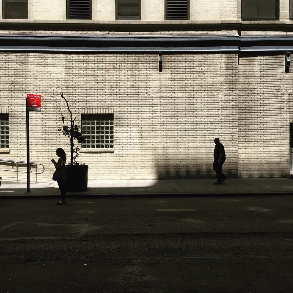 Empty Places, Faceless Faces -