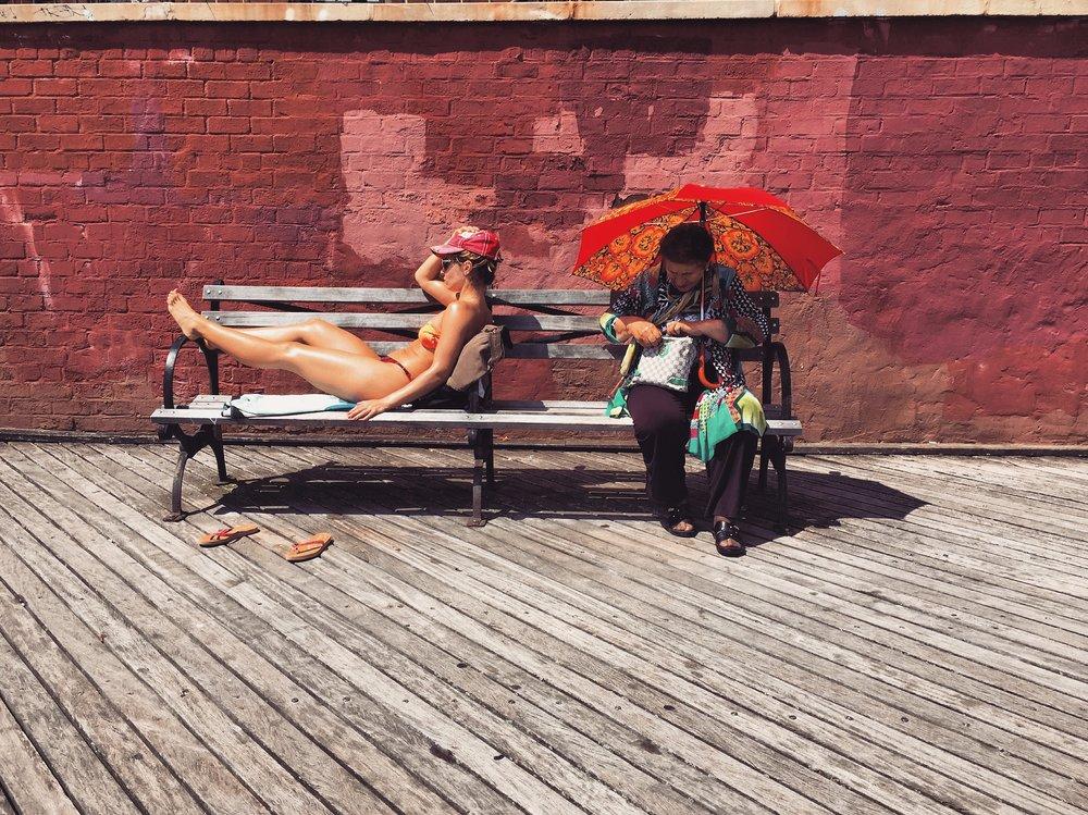 Brighton Beach Ladies -