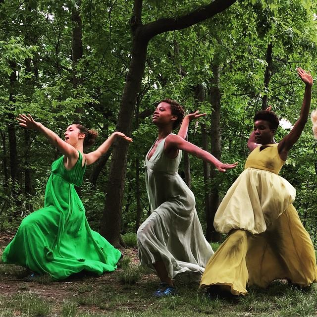 Nymphs of Central Park -