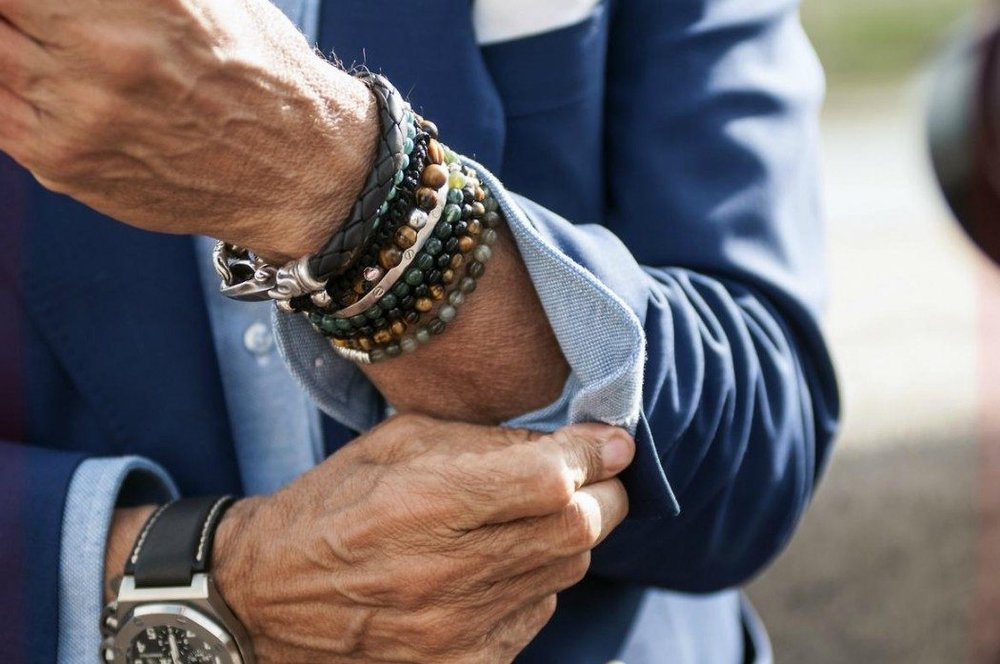 Accessories - Fall is a great time for men to implement accessories. It's also a good way to incorporate color into your wardrobe. There are more options such as scarves, hats, and gloves that you can play with. Also, if you carry a bag to work, invest in a quality one that enhances your look versus looking like you're still wearing your college backpack. Don't shy away from jewelry. It can add a stylish touch and show you put effort into your appearance.